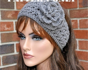Instant Download - Pattern, CROCHET HEADBAND PATTERN, Style #3