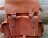 Leather Backpack,Distressed Leather Hiking Backpack,Weekend Backpacks
