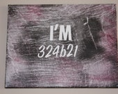 "Orphan Black Fan Art-11"" X 14"" Wall Hanging-I'm 324B21-One of a Kind Gift for Sci-Fi Fan"