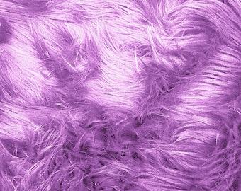 Half Yard Lavender Shag