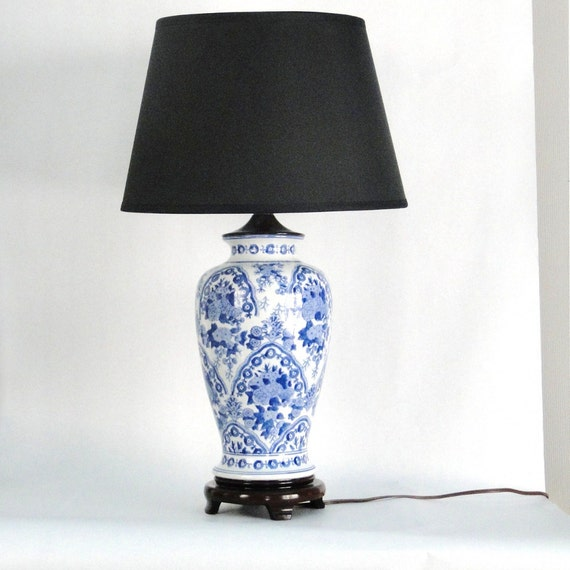 blue and white ginger jar lamps | My Web Value
