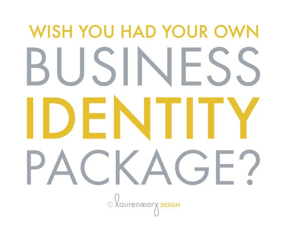 Business Identity Package, Custom Corporate Identity, Small Business Branding