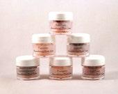 BATH SALT FAVORS - Aromatherapy Himalayan Bath Salts - Rose / Lavender Chamomile / Peppermint - Bridal Shower Favors Minis