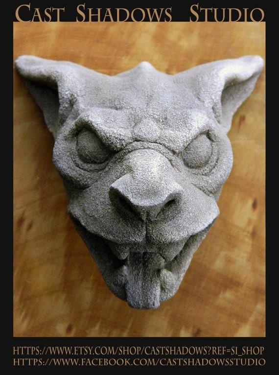 Gargoyle Headdraculas Dog Gothic Architectural