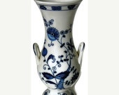 Huge Clearance Sale Vintage Seymour Mann Vienna Woods Blue Onion Vase