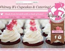 Website, Food Industry, Mobile Compatible, Custom Design Package