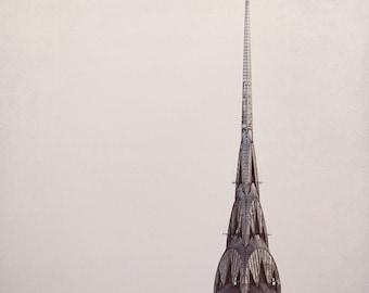Chrysler Building - 8x10 photograph - New York City - fine art print - vintage photography - Manhattan architecture - New York skyline