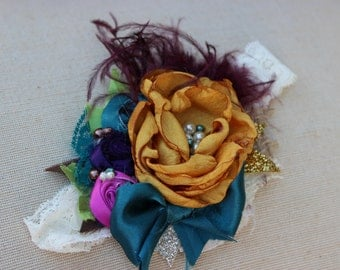 Baby Headband- Persnickety Headband- Baby Girl Headband- Couture Baby Headband- Matilda Jane