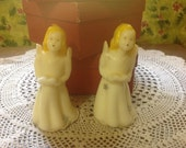 A pair of Tavern vintage singing angel candles in original box  -- 3 pair available