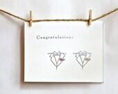 Gay Wedding Card- Congratulations