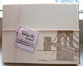 Brooklyn Bridge - Notecards Set of 8