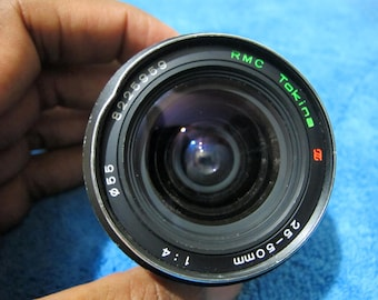 Tokina f/4 25-50mm Pentax Mount Zoom Lens
