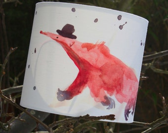 Lampshade Children's - Anteater Shade Ceiling or Table Shade