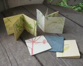 "Letterpress ""Specimens"" (set of 4 single-page books)"