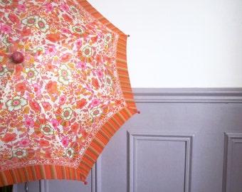 Vintage french umbrella for children, 1970, Rain accessories, Retro, Kitsh, Parapluie, Toy, Game, France