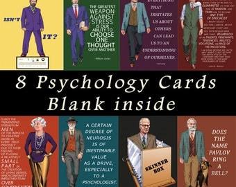 Famous Psychologist Card Box Set