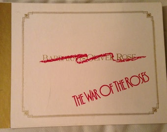 War of the Roses, movie press kit