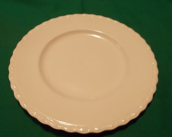 """Two (2), 8"""" Salad Plates, from Myott and Sons & Co., Ltd, in the MYO 127 Pattern. Old Crown Mark."""