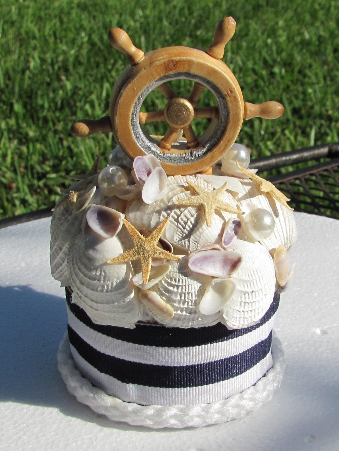 nautical cake toppers for wedding cakes unavailable listing on etsy 17728