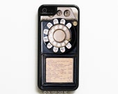 iPhone 5C Case. Vintage Payphone - Case for iPhone 5C. Phone Case. Phone Cases.