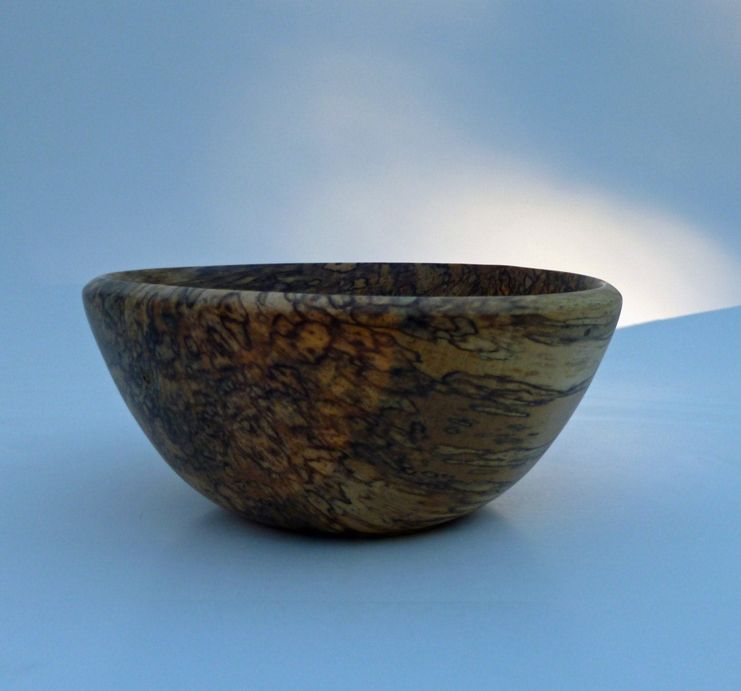 handmade wood bowls turned river birch wood bowl handmade wooden by mcarroll5 3920