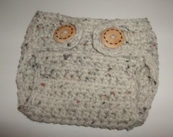 Crochet Baby Diaper Cover, Newborn Photo Prop, Newborn Diaper Cover,   Made To Order