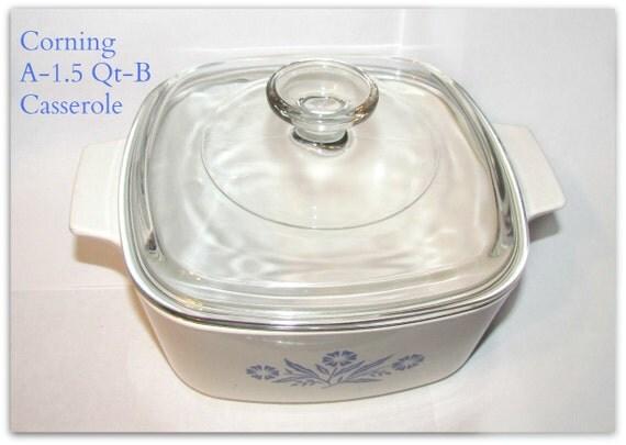 SALE    Vintage ...1.5 Quart Baking Dish Dimensions