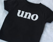 "Infant/Toddler Birthday ""Uno"" T-Shirt"