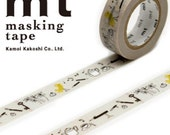MT Washi Masking Deco Tape Bird Pencil Designed by Olle Exsell