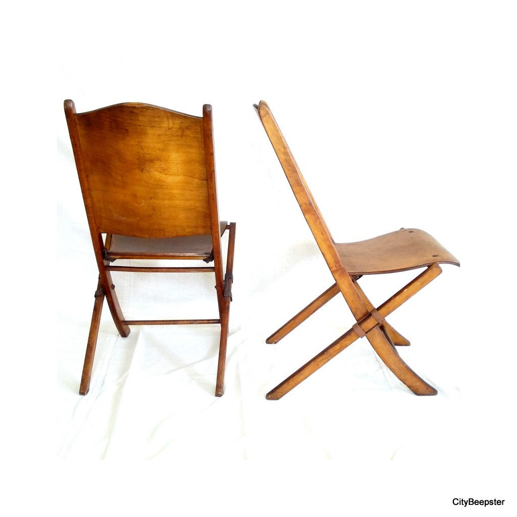 pull up a chair antique wood folding chairs pair set