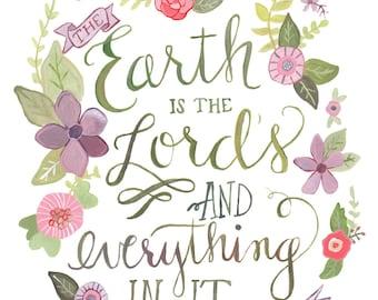 Psalm 24: 1