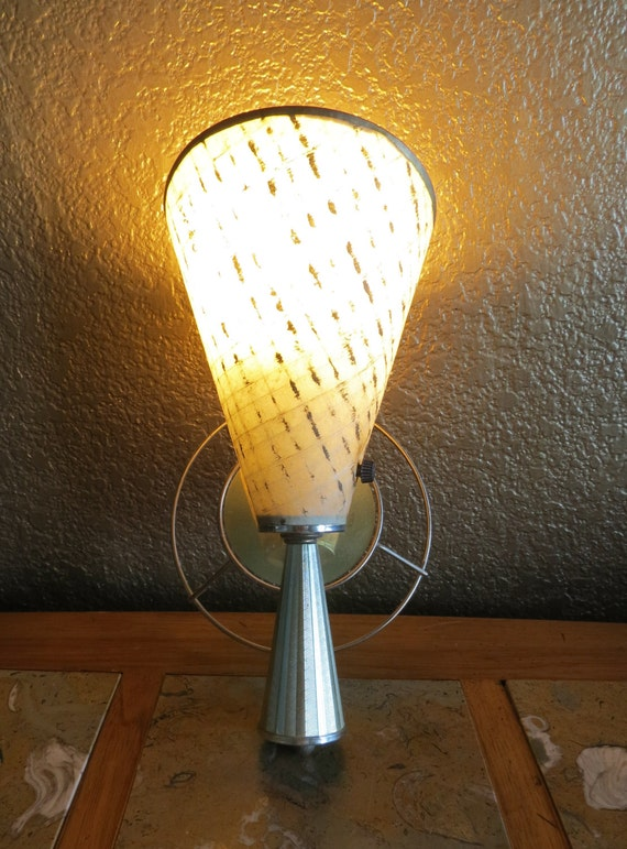 MId Century Modern Wall Sconce Cone Torch Atomic