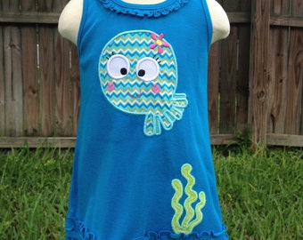 Octopus Dress - Girl - Toddler - Baby