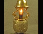 The Dragons Helmet lamp