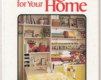 Vintage 1970s Book Better Homes and Gardens Sewing for your Home