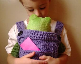 Crochet Baby Doll Carrier-Mei Tai