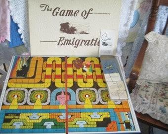 Emigration  Vintage LDS Game 1947, Rare  Board Game, Vintage Board Game, Board Game, Religious Board Game, Religion, :)