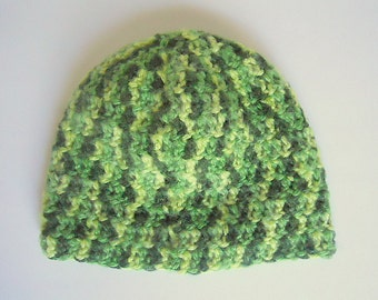 Adult To 2 Year Old Boy Green Hat Toddler 3 4 5 Years Girl Beanie Preteen Fall Varigated Winter Cap Teen Skullcap  Ready To Ship