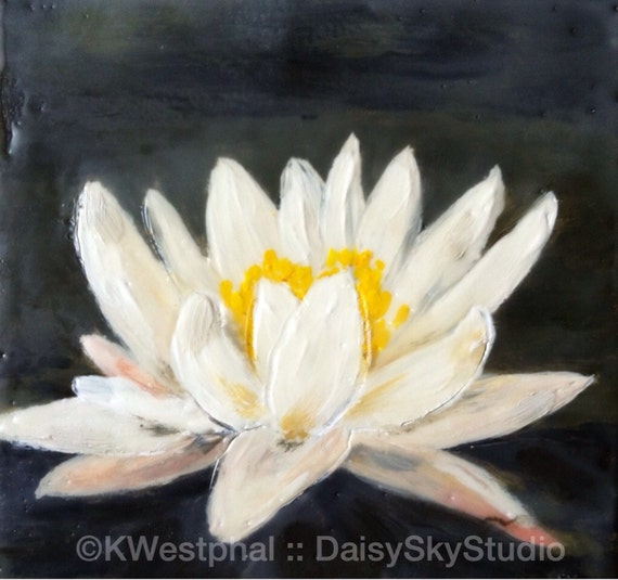 www.etsy.com/listing/125141919/lily-6x6-original-encaustic-painting