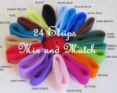 Scrubbie Supplies Multi Pack Of Nylon Netting Strips Ready To Crochet