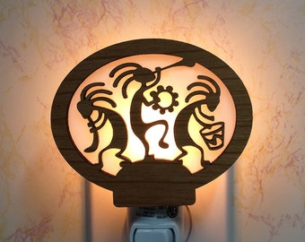 Kokopelli Night Light
