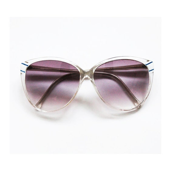 Vintage 1980s yachtclub retro glasses