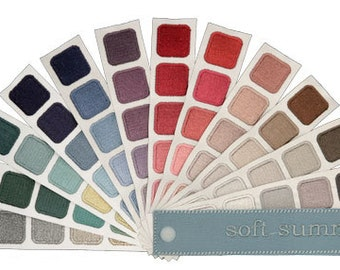 Color Harmony Swatch Book for Soft Summer