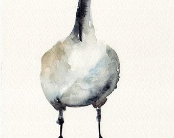Goose Fine Art print of my original Illustration in various sizes