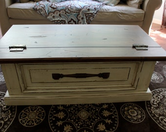 Hand Crafted Storage Chest / Blanket Box