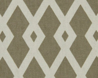 ON SALE - Taupe Upholstery Fabric