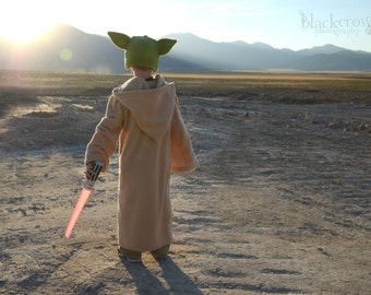 Star Wars inspired Yoda Robe/Cloak - toddler