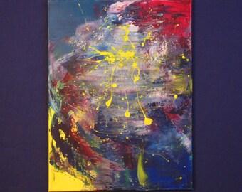 Untitled 18x24 Acrylic on Canvas 010