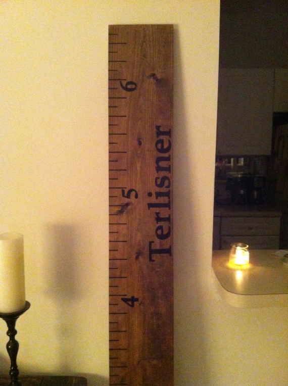 Growth Chart Hand Painted 10 dollars off