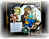 Scripture Card---Virtuous Woman Mother's Day/Any Occasion Card + Matching Envelope Box